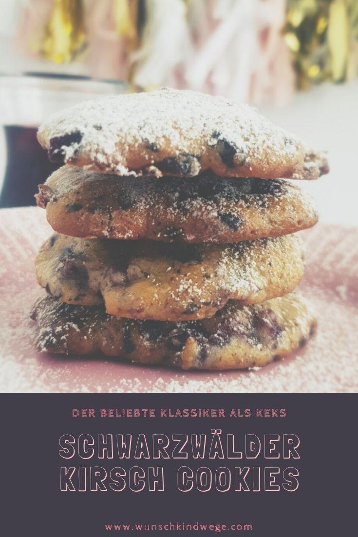 Schwarzwälder Kirsch Cookies