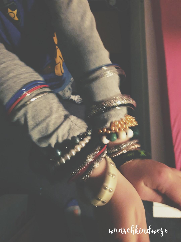 Armbänder - Wochenende in Bildern