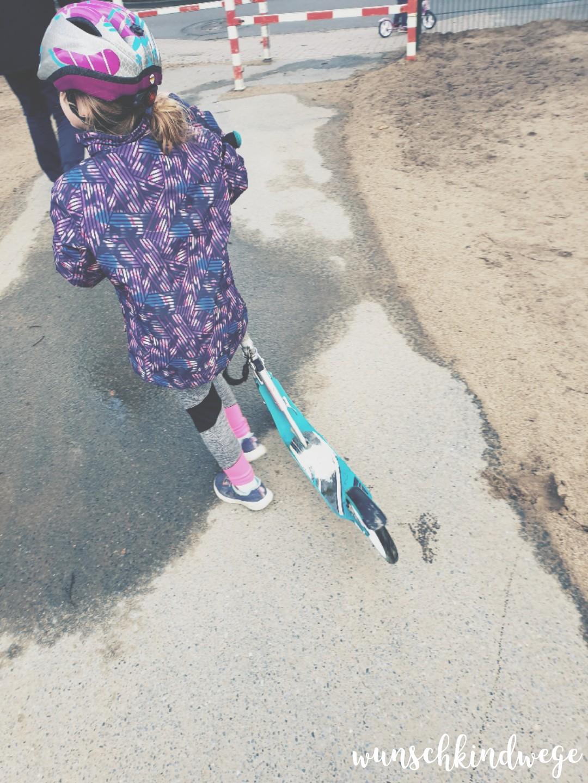 Roller fahren Wochenende in Bildern