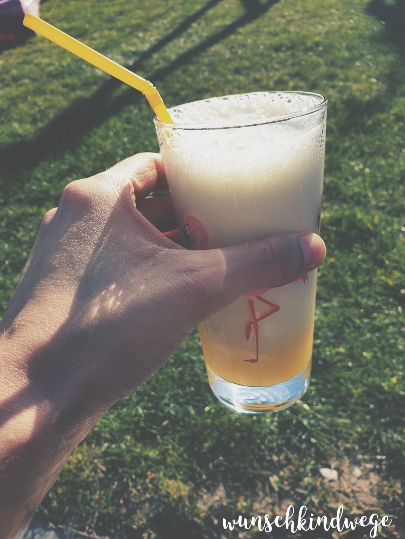 Cocktail im Garten