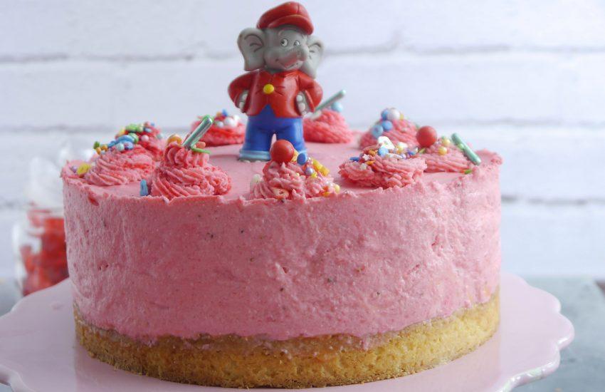 Benjamin Blümchen Torte selbstgemacht