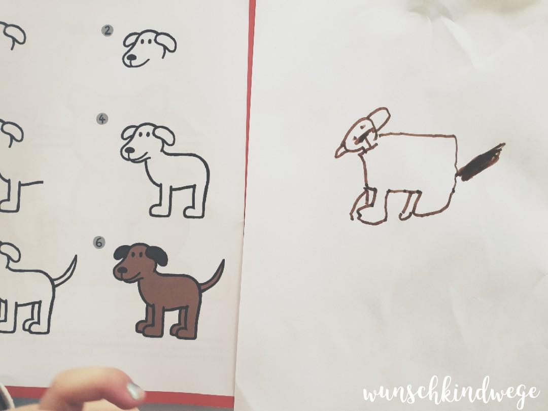 Zeichnen lernen KITA Kind