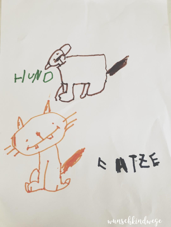 KITA Kind Zeichnen