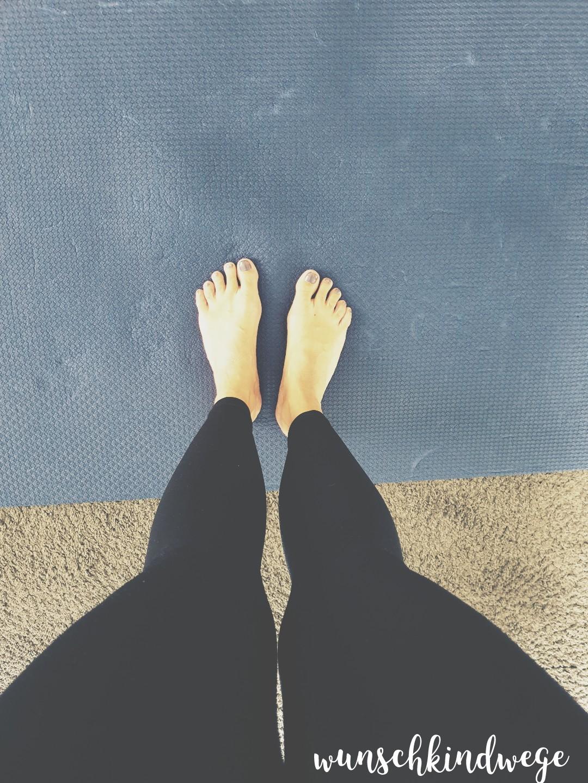 Yoga Wochenende in Bildern