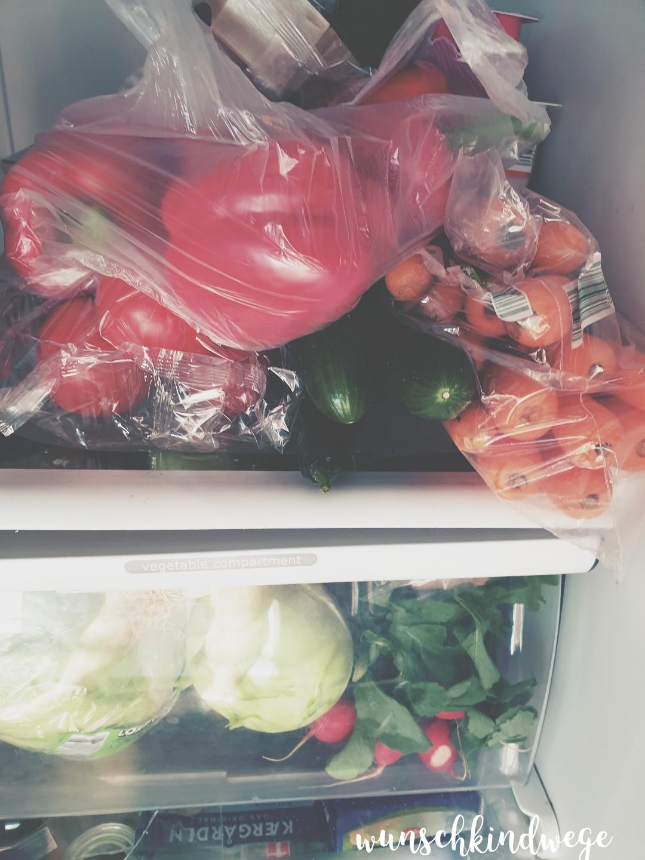 WMDEDGT voller Kühlschrank