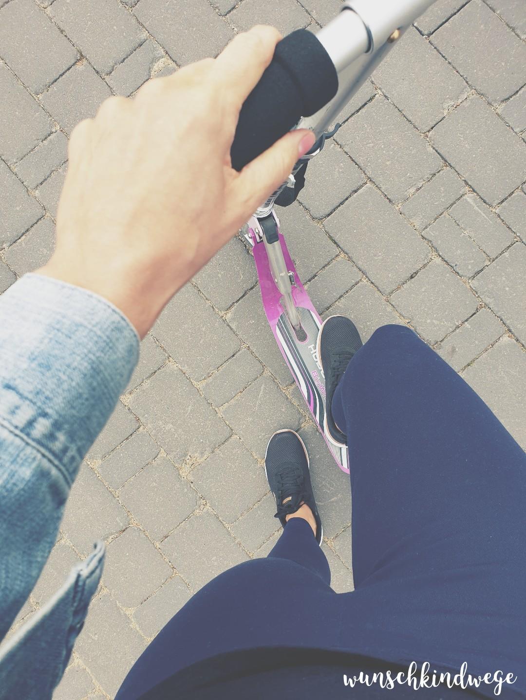 Roller fahren Wochenende