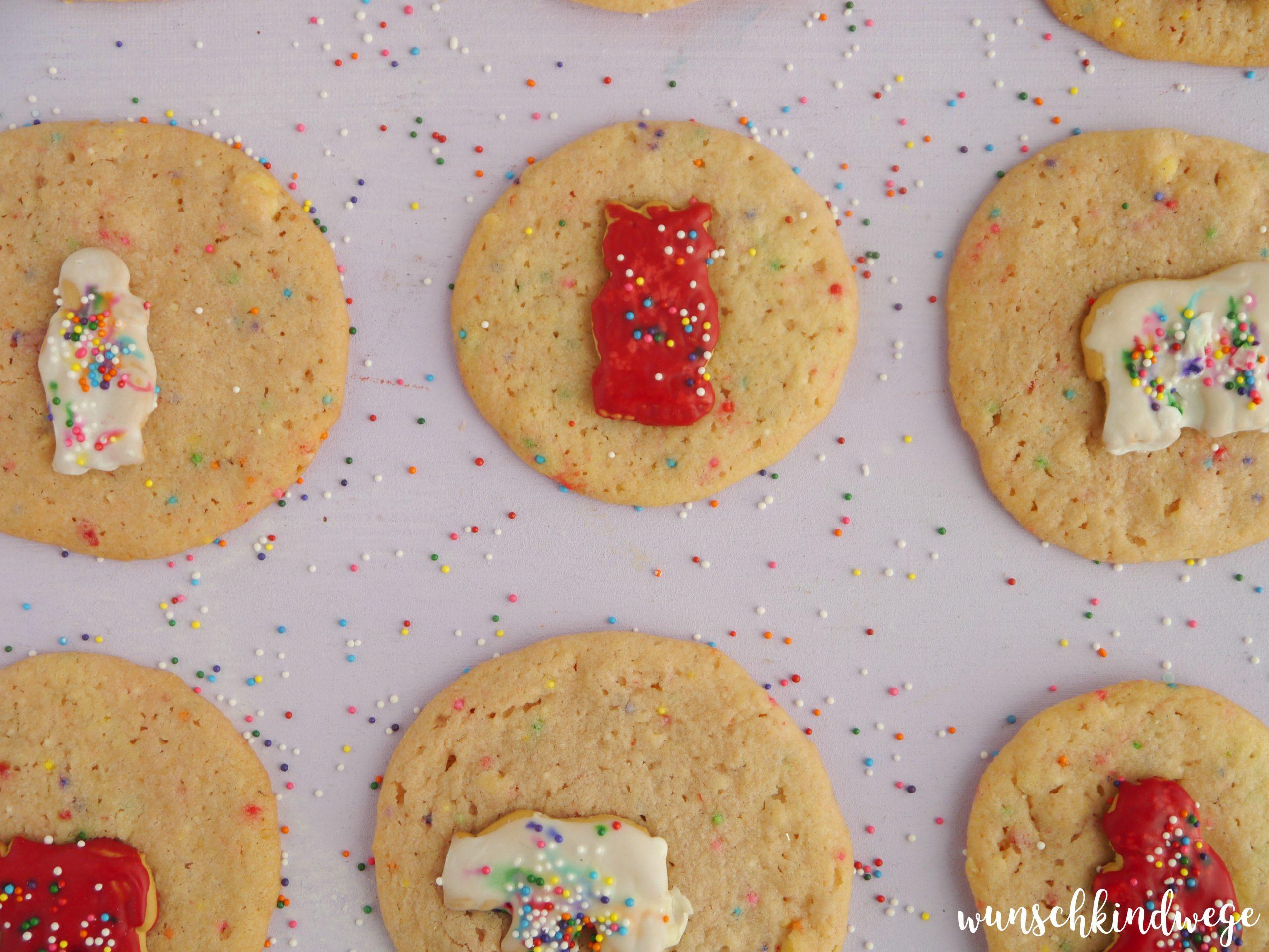 Zootier Cookies Rezept
