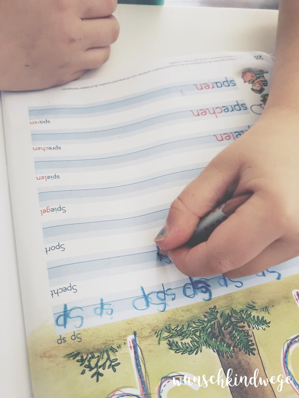 Grundschule Schreibübung