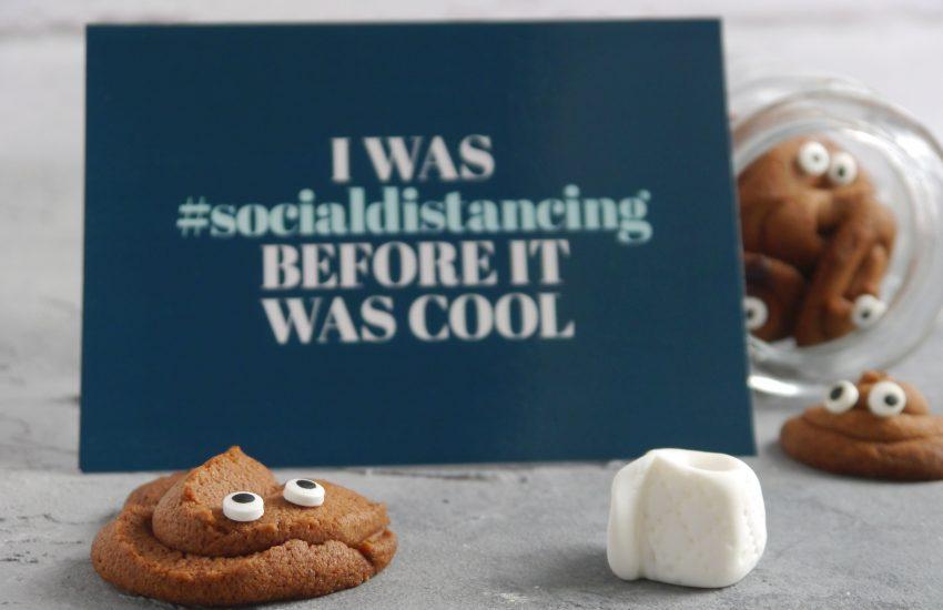 Solidaritäts-Postkarten verschicken Social Distancing