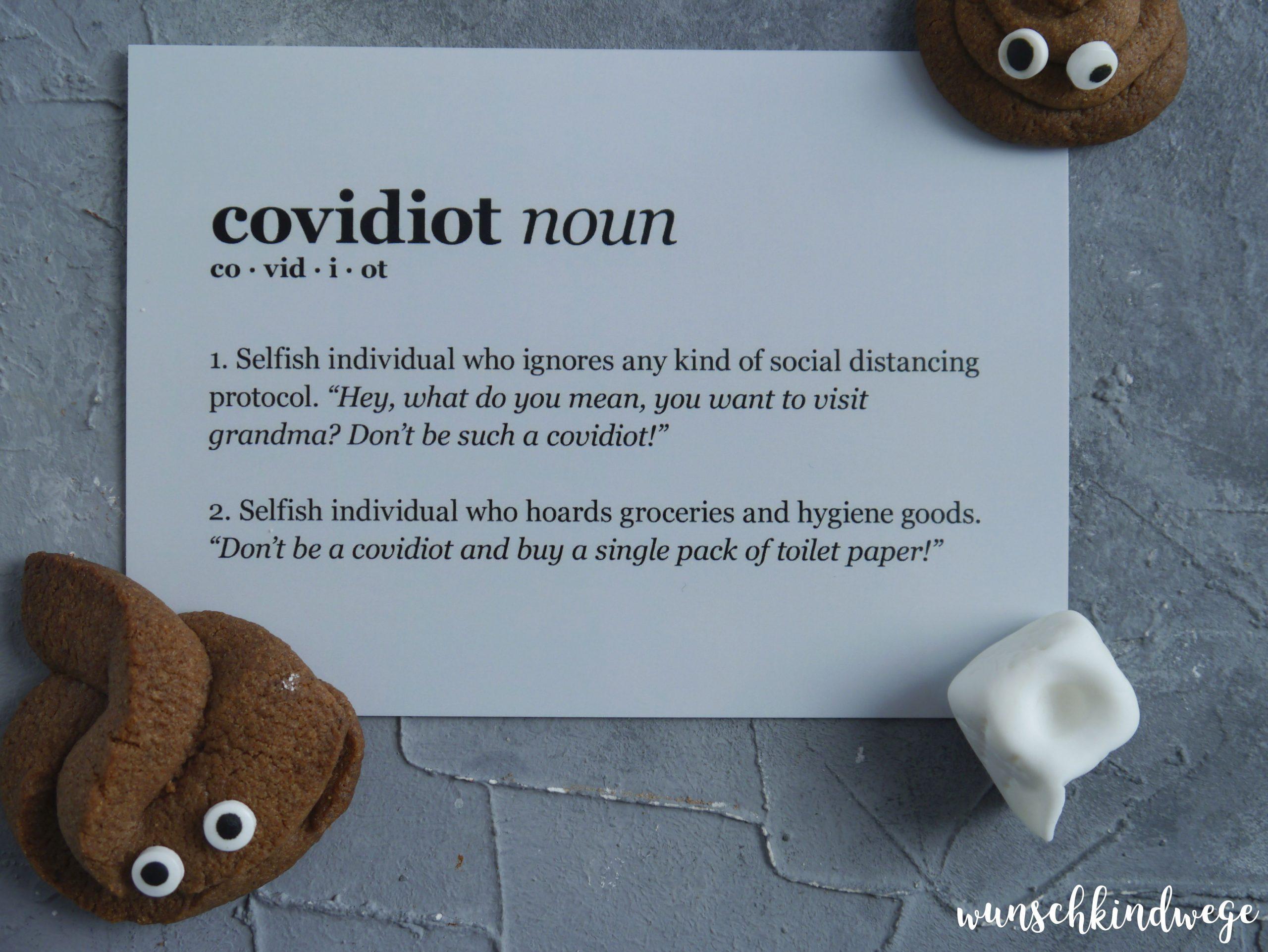 covidiot Postkarte MyPostcard