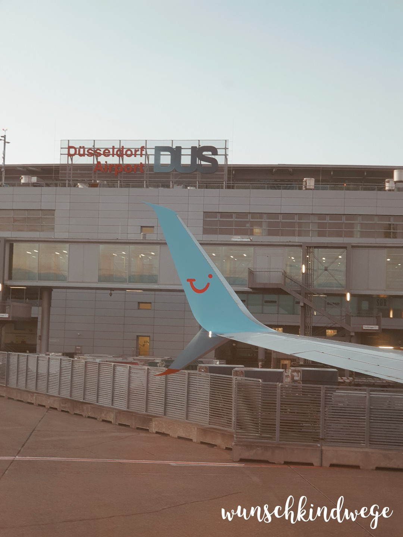 Abflug Flughafen DUS