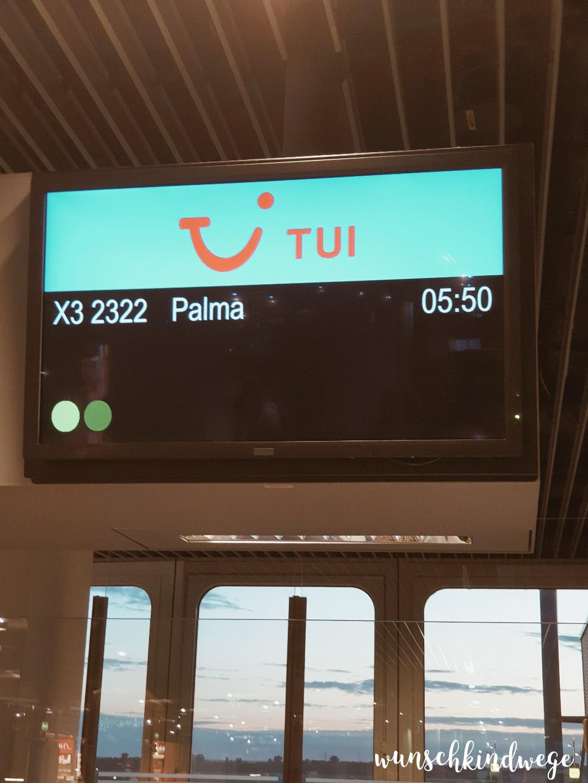 Abflug Palma de Mallorca