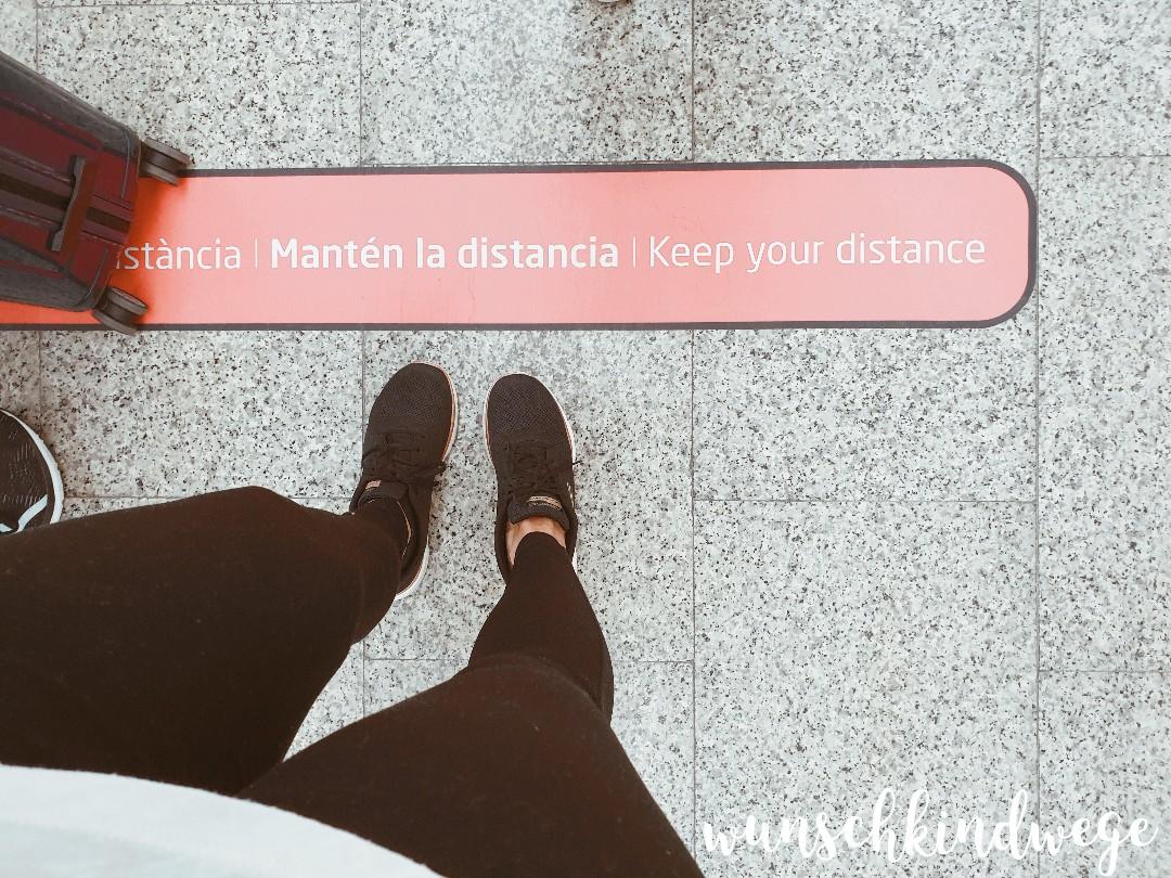 Abstand Flughafen Mallorca