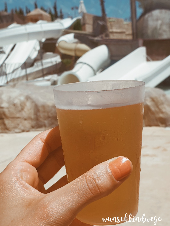 All inclusive Bier Cala Mandia