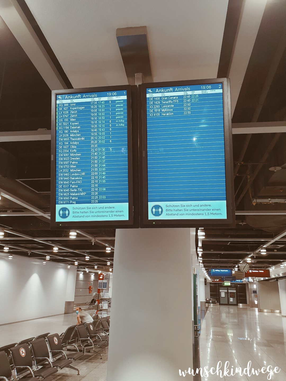 Flughafen Düsseldorf Corona