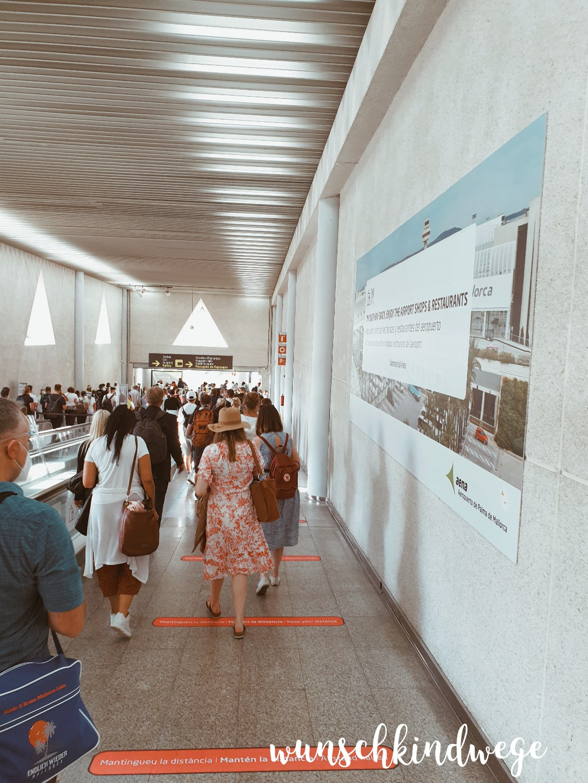 Flughafen Mallorca Fiebermessen