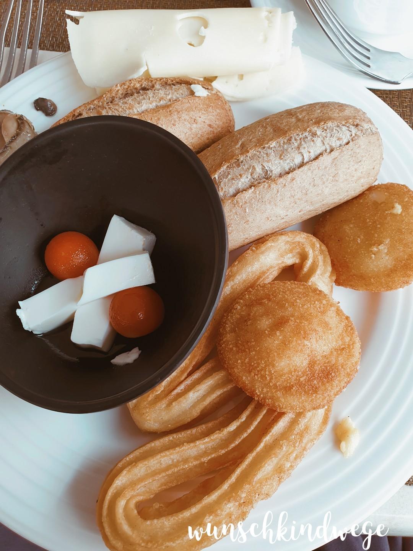 Mallorca Frühstücksbuffet Churros