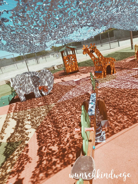 Spielplatz Cala Mandia