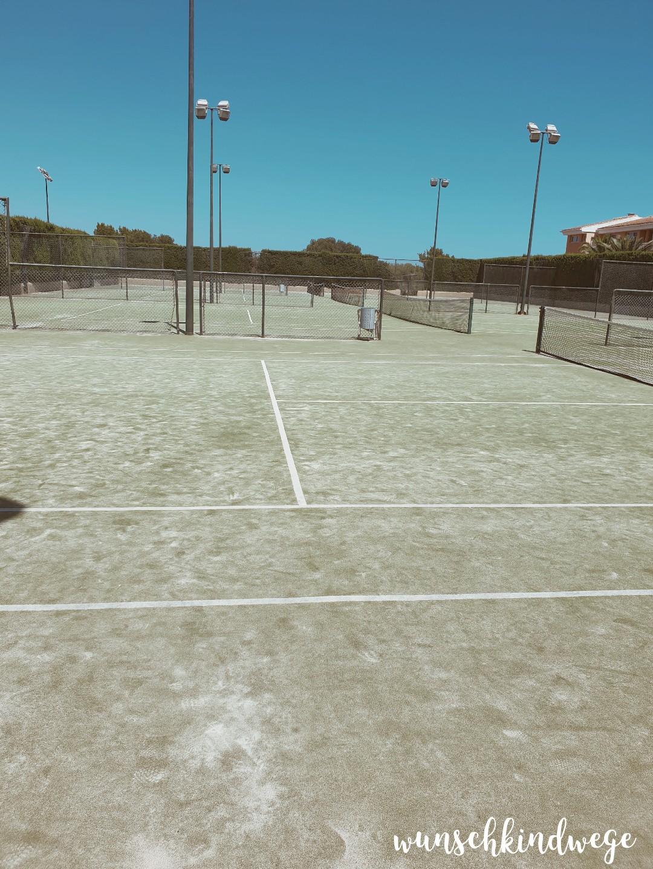 Tennisplatz Cala Mandia Insotel TUI Kids Club