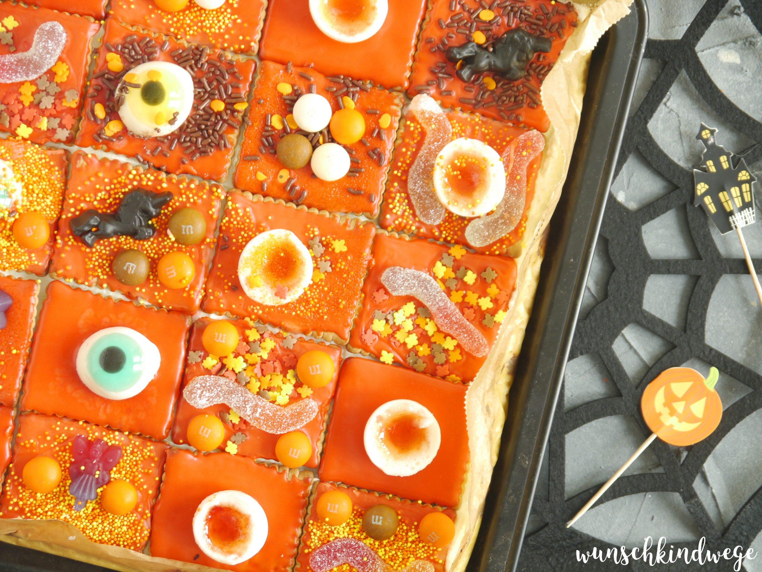 Halloweenkuchen Süßigkeiten