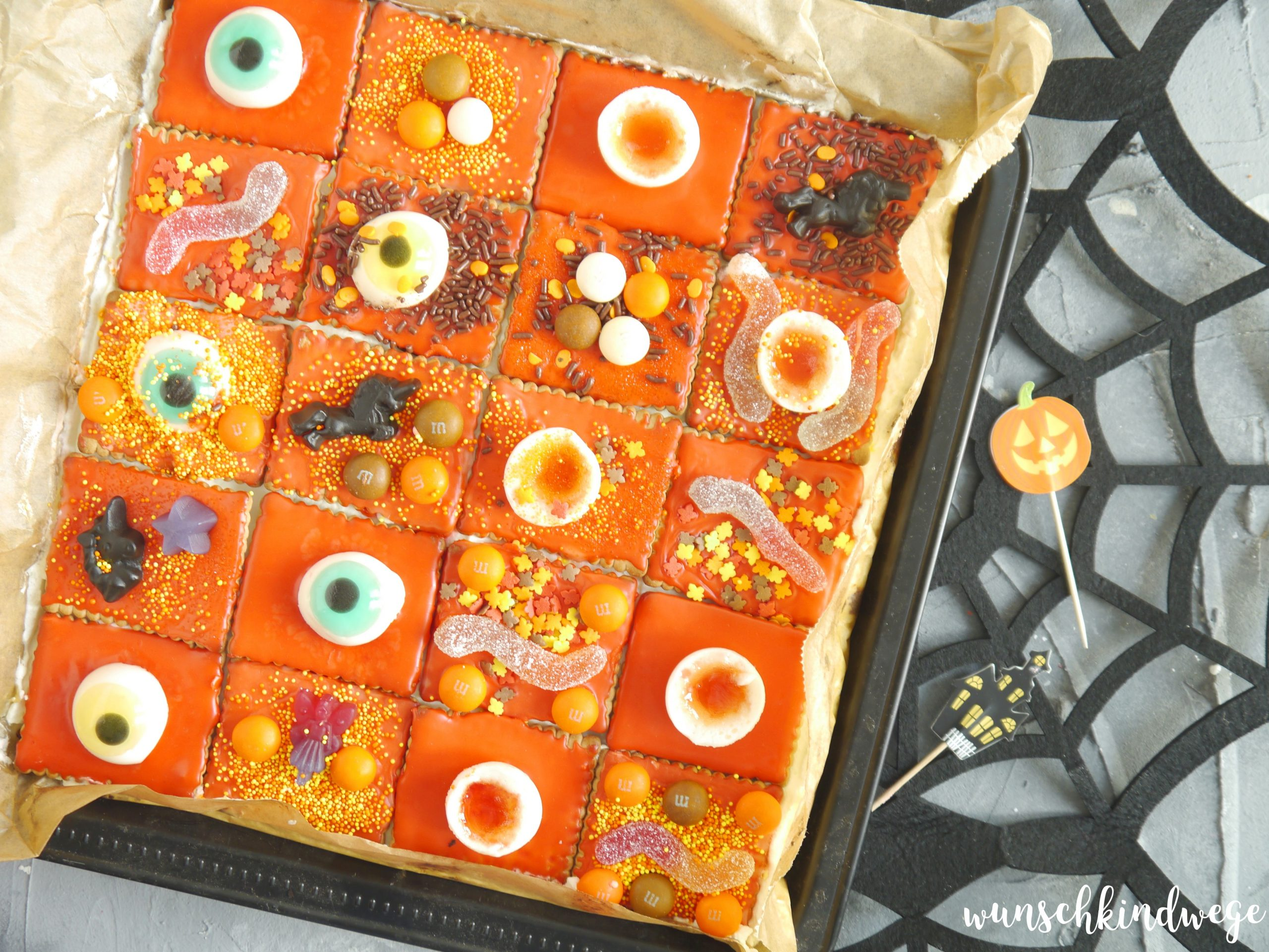 Halloweenkuchen gruselig