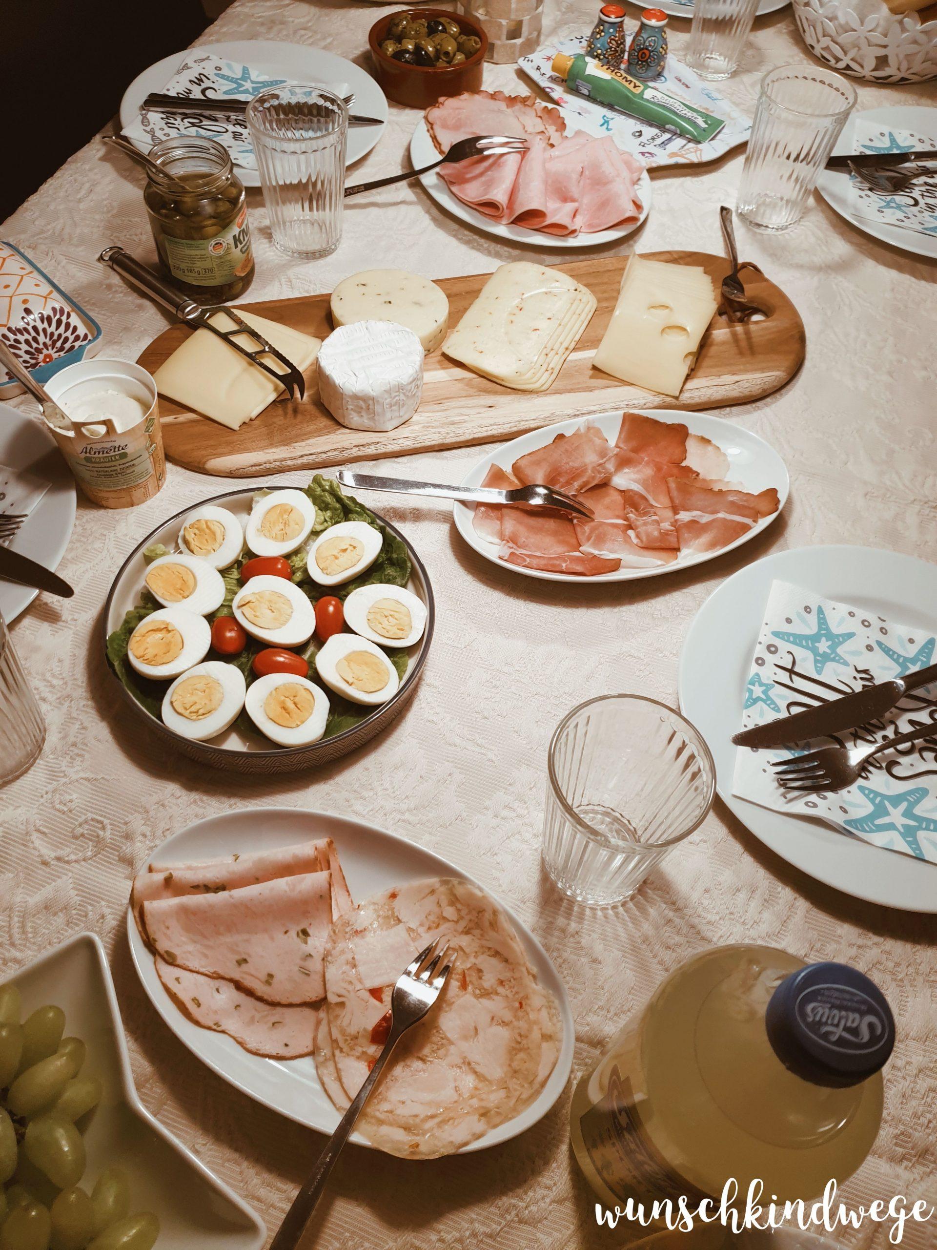 Abendessen - Was machst Du eigentlich den ganzen Tag