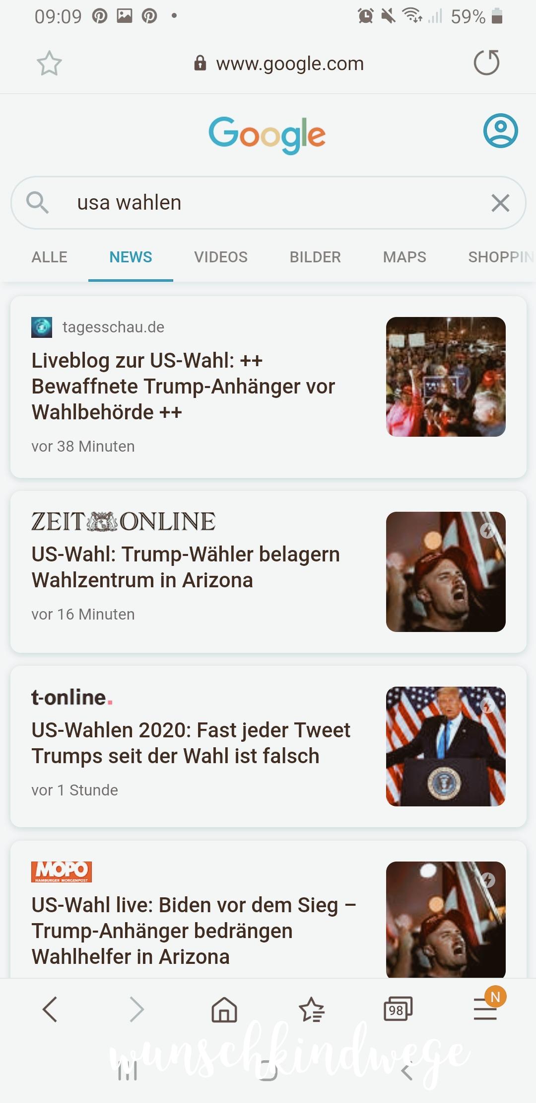 Praesidentschaftswahl-News