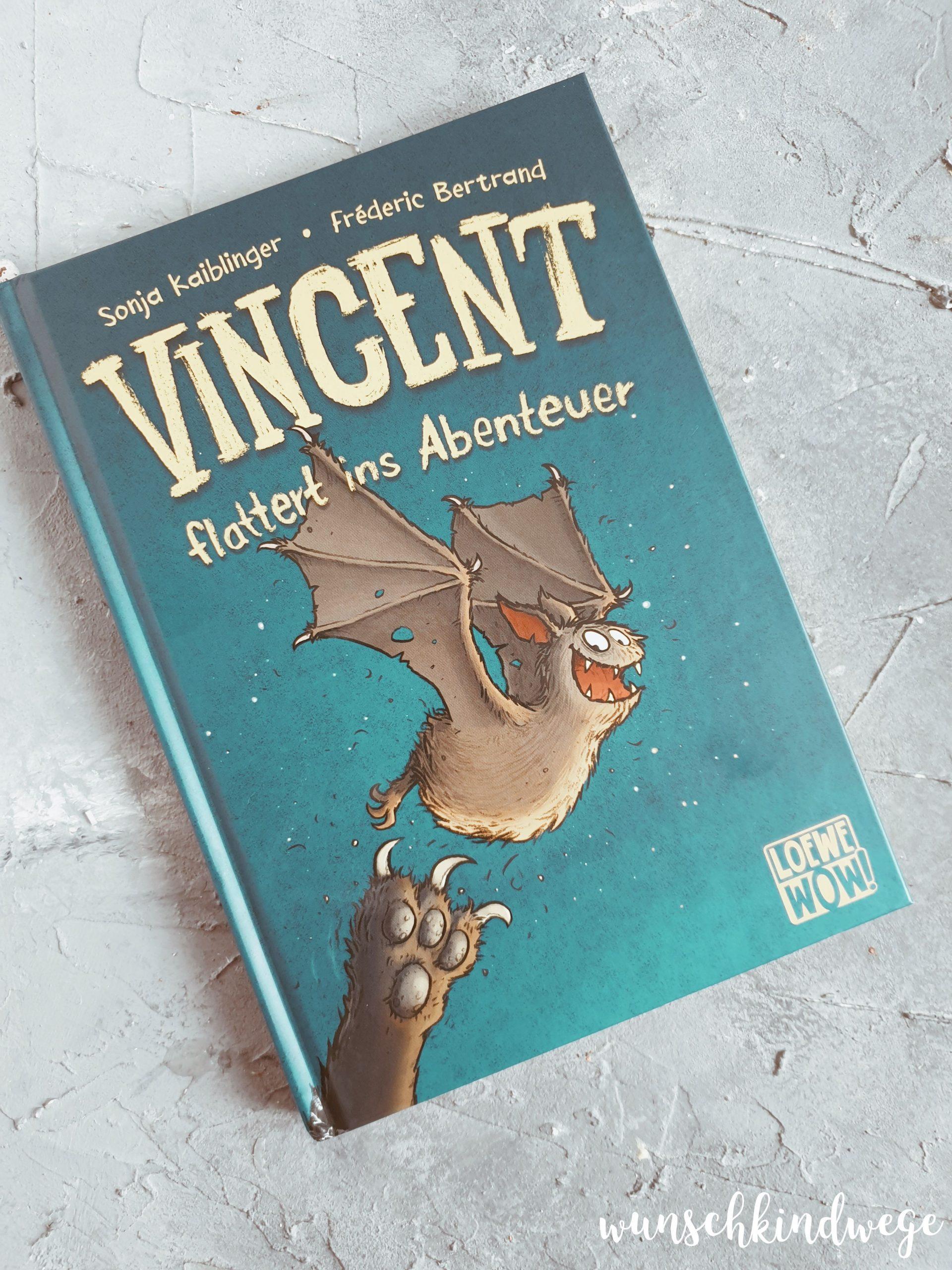 Vincent flattert ins Abenteuer Geschenke zum 7 Geburtstag