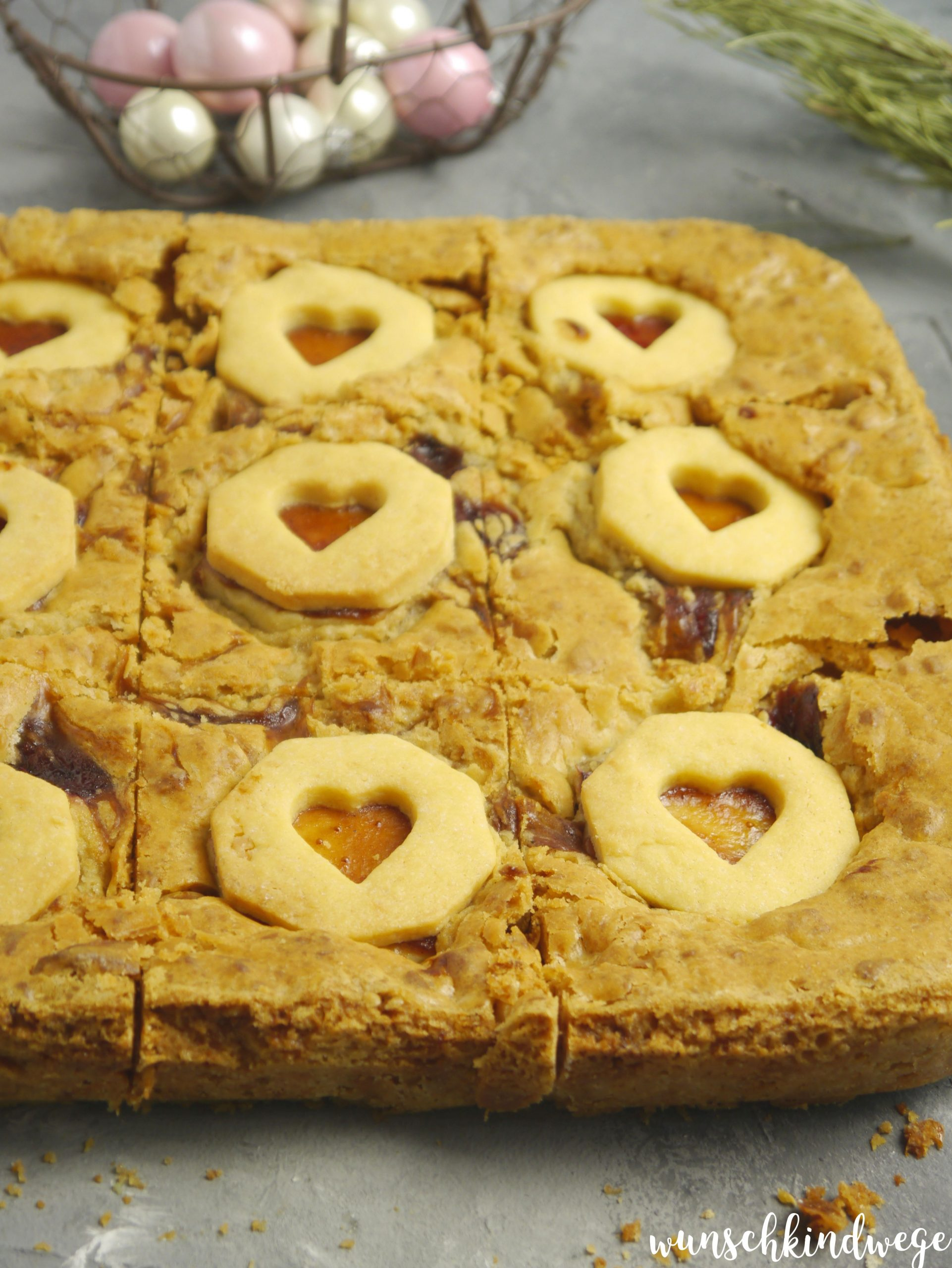 Engelsäuglein Blondies backen