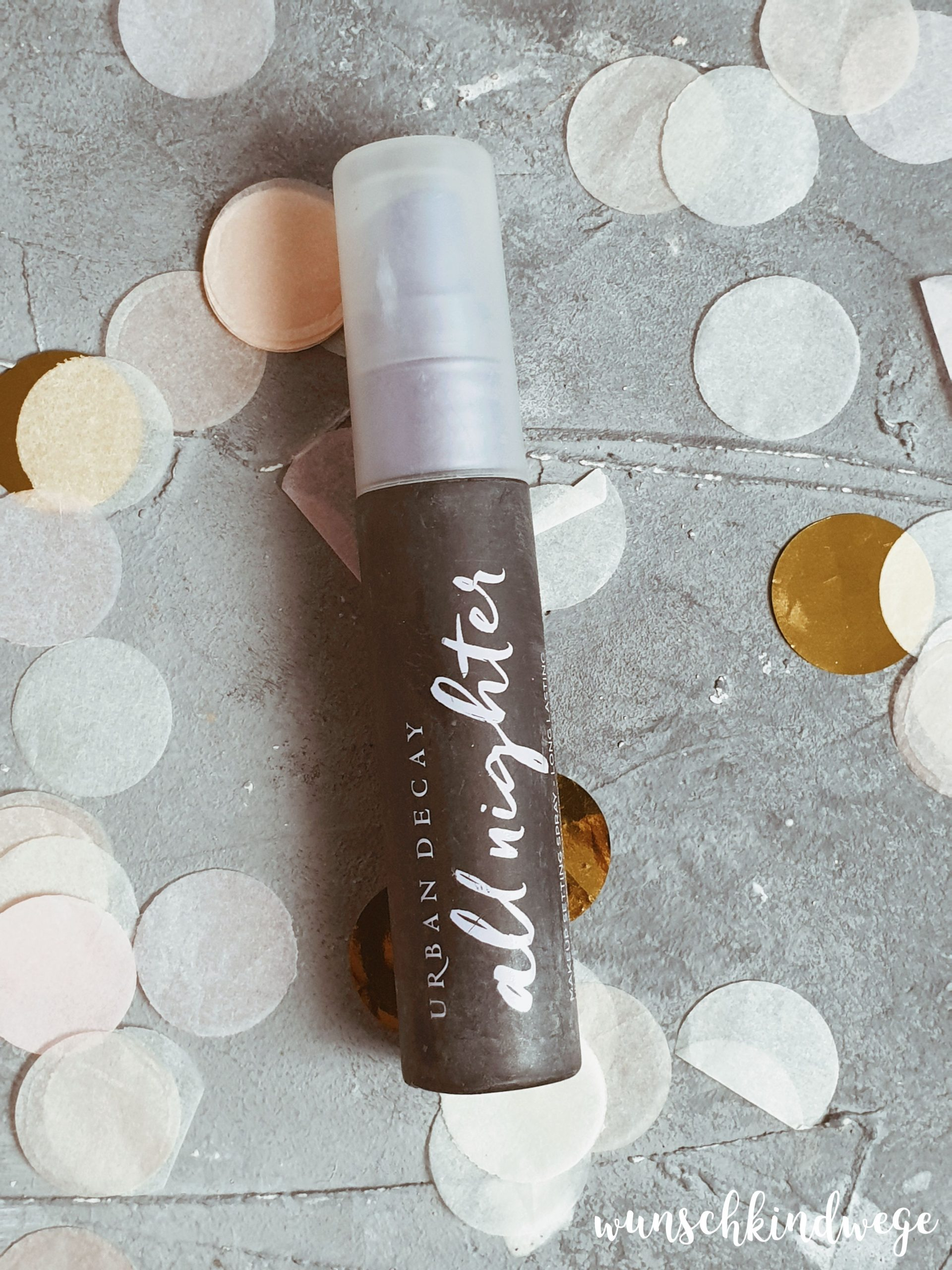 Urban decay All nighter Makeup Fixierung