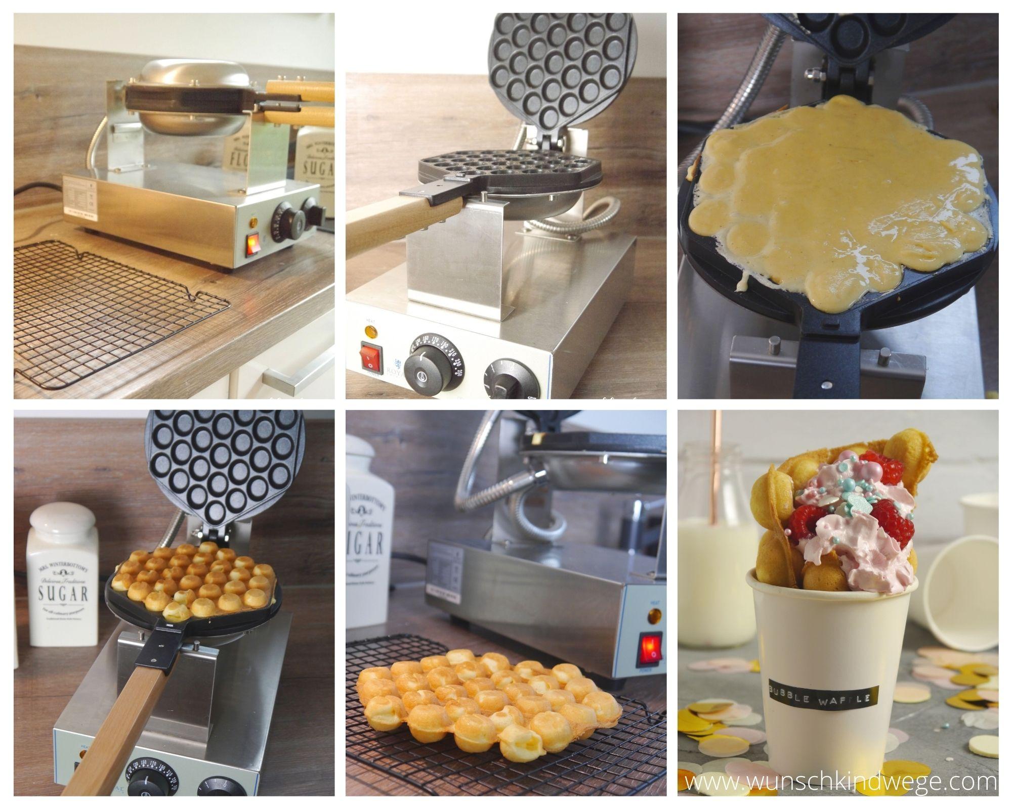 Bubble Waffle Expondo Waffeleisen Rezept