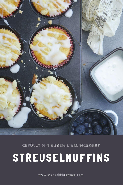 Streuselmuffins Pinterest
