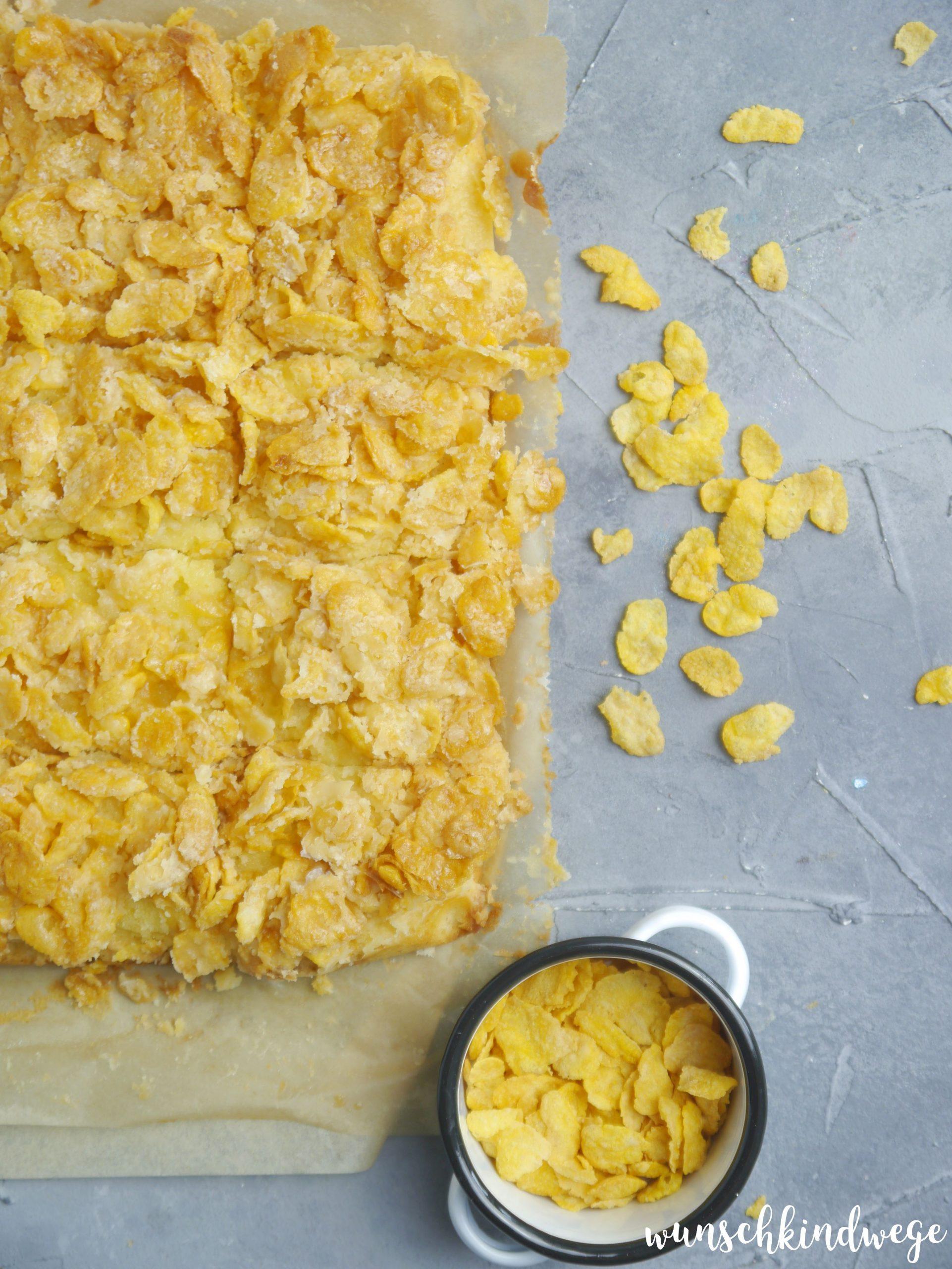 Cornflakeskuchen Kindergeburtstag