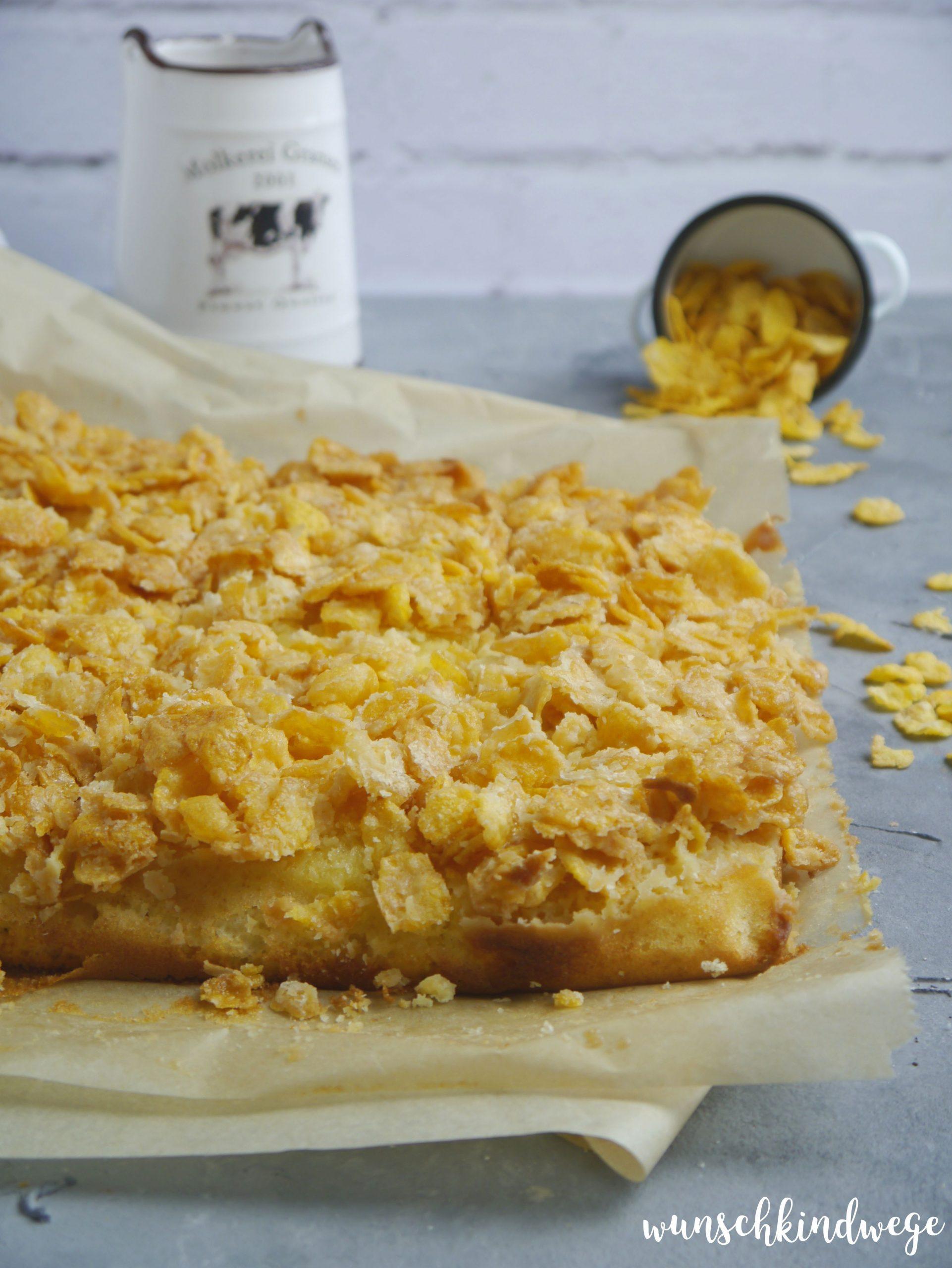 Cornflakeskuchen Rezept