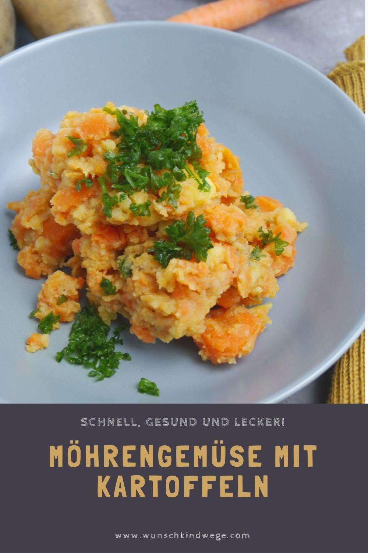 Möhrengemüse mit Kartoffeln Pinterest