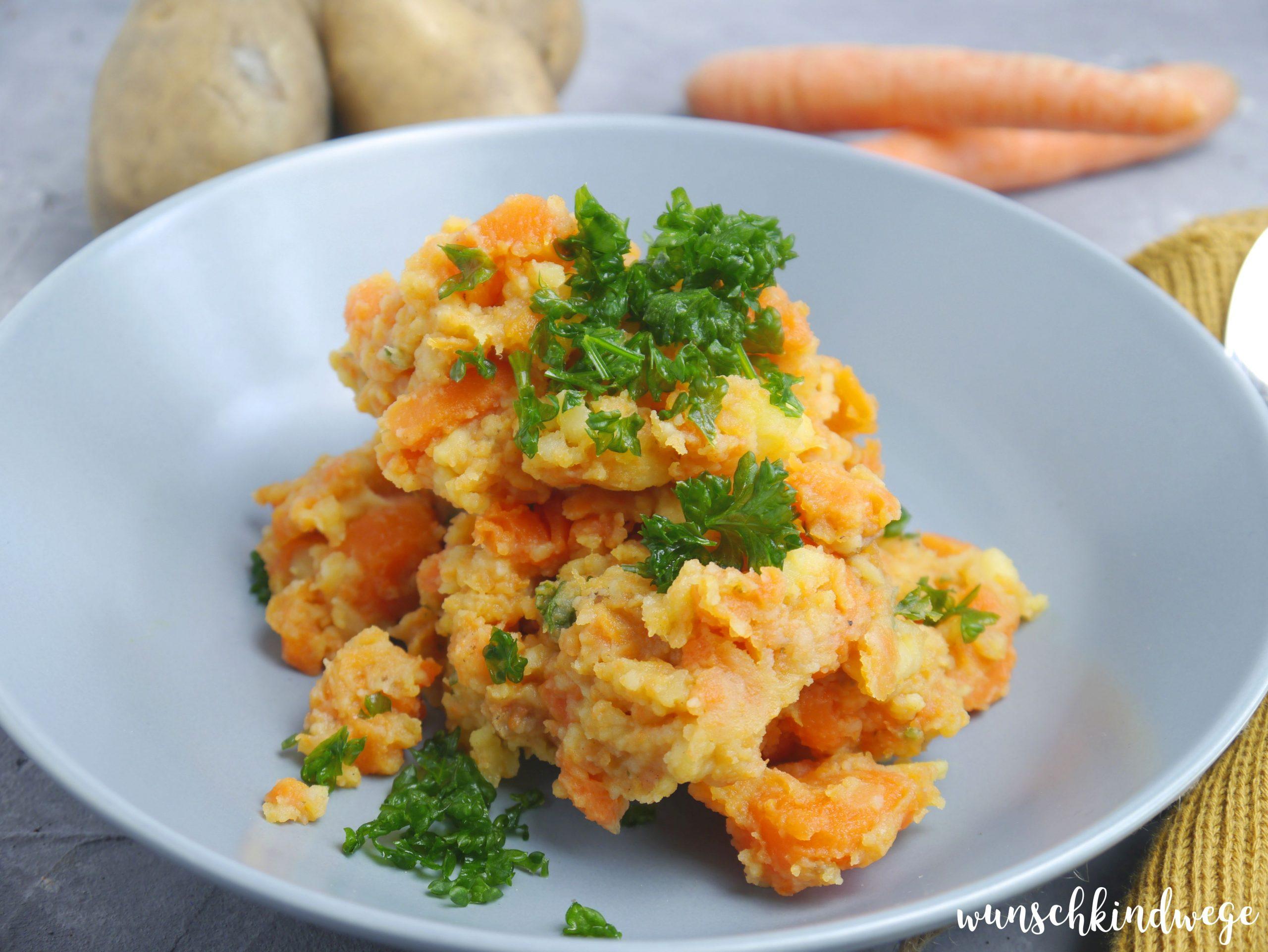 Möhrengemüse mit Kartoffeln Weight Watchers