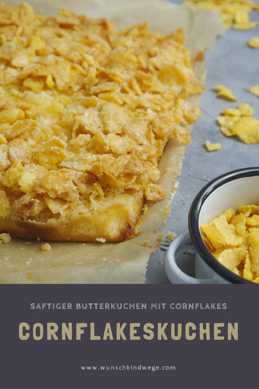 Rezept für Cornflakeskuchen